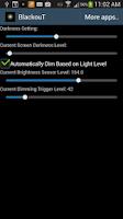 Screenshot of BlackouT Screen Dimmer