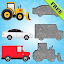 Free Download Vehicles Puzzles for Toddlers! APK for Samsung