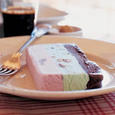 Spumoni Ice Cream Terrine