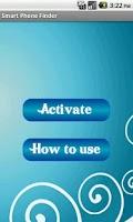 Screenshot of Smart Phone Finder