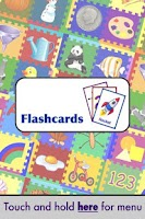 Screenshot of Flashcards Toddler Preschool