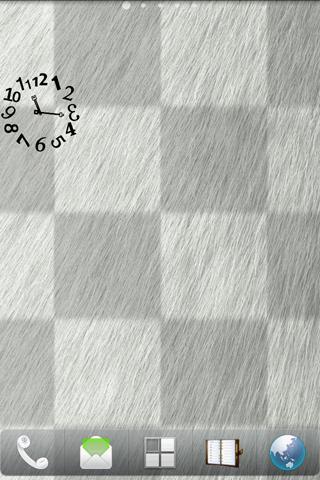無料生活Appの凸凹アート時計ウィジェット|記事Game