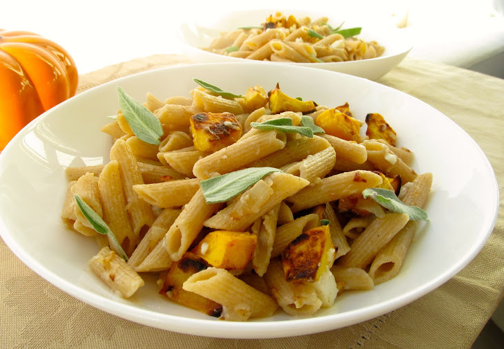 Sage-Scented Fettuccine With Butternut Squash Recipes — Dishmaps