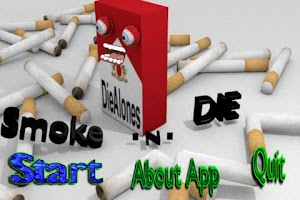 Screenshot of Stop Smoking Talking Cigarette