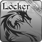 Tribal Dragon GO Locker theme icon