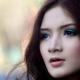 blue eyes by Hery Sulistianto - People Portraits of Women (  )