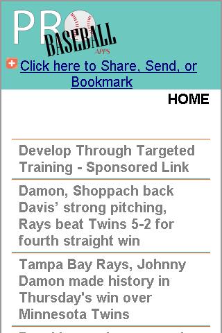 Tampa Bay Pro Baseball News