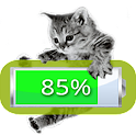 Kitten Battery Widget Premium icon