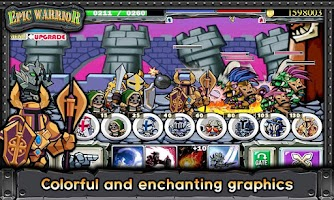Screenshot of EpicWarrior