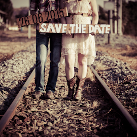 Invitation by Johan Niemand - People Couples ( invite, girl, couple, boy, engagement )