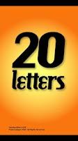 Screenshot of Twenty Letters - Word Game