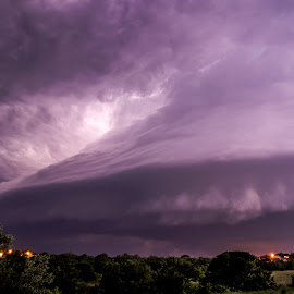 The Mothership by Robert Sinner-Storm Chaser - Landscapes Cloud Formations ( lightning, weather, cloud, supercell, storm )