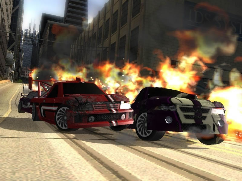 Eidos let slip more on Crash 'n' Burn