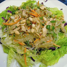 Thai Clear Noodle Salad (Yum Woon Sen)