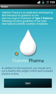 Diabetes Pharma - screenshot
