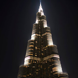 The Burj Khalifa by Madeline Joanne - Buildings & Architecture Public & Historical