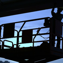 Working at Height by Koh Chip Whye - People Street & Candids (  )