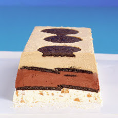 Frozen Mocha Toffee-Crunch Terrine