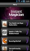 Screenshot of Instant Magician