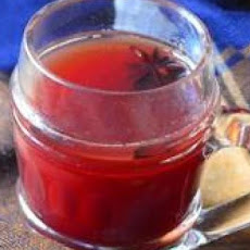 Spiced Apple-Pomegranate Cider