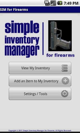 SIM for Firearms