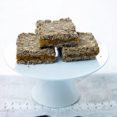Apricot Oat Slices