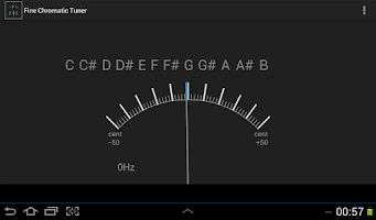 Screenshot of Fine Chromatic Tuner