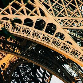 Eiffel detail by Timothy Carney - Buildings & Architecture Architectural Detail ( paris, eiffel tower, detail )