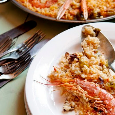 Shellfish Paella (Paella de Marisco) From 'Spain'