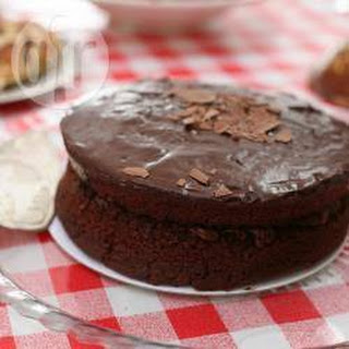 Double Chocolate Sponge Cake