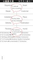 Screenshot of GPS Time Tracker - logbook Pro
