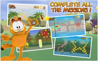 Screenshot of Garfield's Wild Ride