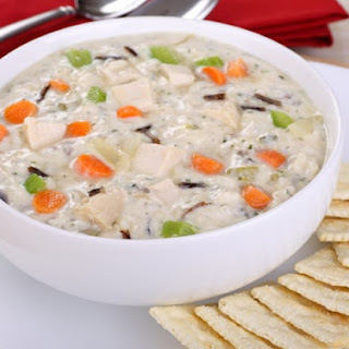 1. Creamy Chicken and Wild Rice Soup