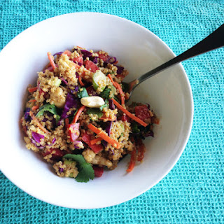Asian Cashew Quinoa Salad