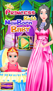 Princess Birth Newborn Baby - screenshot