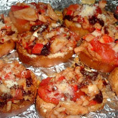 Crab, Chipotle & Tomato Bruschetta