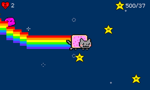 nyancat-game for android screenshot