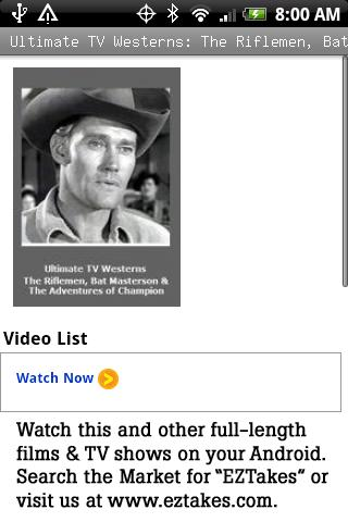 TV Westerns: The Riflemen