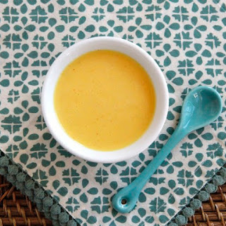 Vegan Saffron Hollandaise