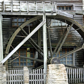Spring Mill Wheel by Susan Holland - Buildings & Architecture Other Exteriors