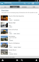 Screenshot of Israel Travel Guide by Triposo