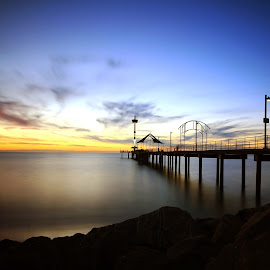 brighton jetty on the other side by Budiyanto Dwi Prasetyo - Landscapes Sunsets & Sunrises