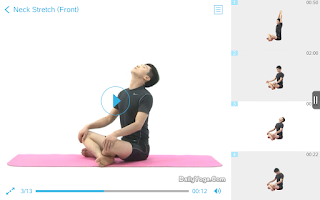 Screenshot of Daily Yoga - Fitness On-the-Go