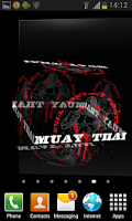 Screenshot of 3D Muay Thai Live Wallpaper