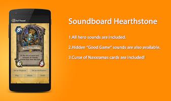 Screenshot of Soundboard Hearthstone Free