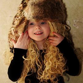 Godiva Girl by Cheryl Korotky - Babies & Children Child Portraits