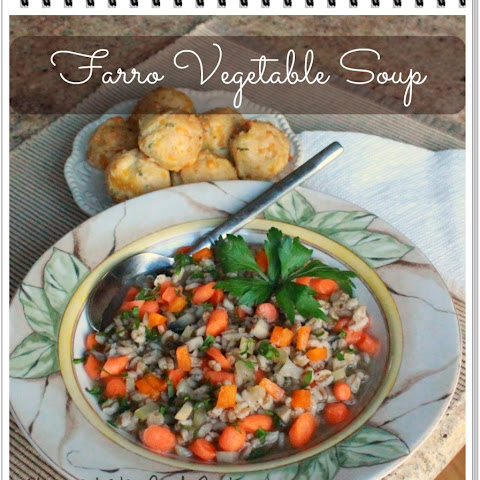 Farro Vegetable Soup