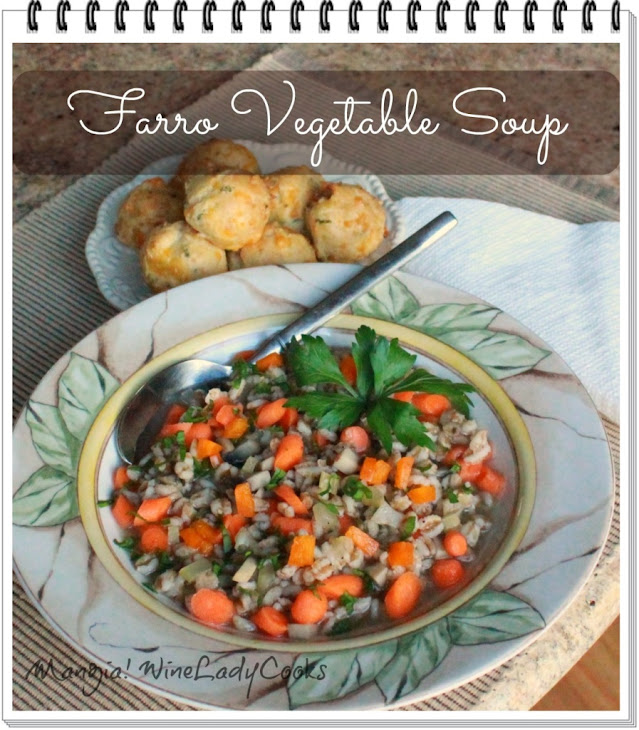 Farro Vegetable Soup Recipe | Yummly