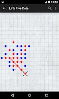 Screenshot of Link Five Dots