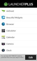 Screenshot of Launcher Plus Widget